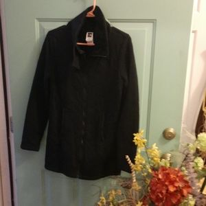 Ladies black North Face jacket